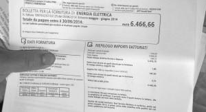 In prima battuta, la signora Borutti si è vista recapitare una bolletta dal 6466 euro, a seguire, dopo le rassicurazioni dell'azienda elettrica, le è rapidamente arrivato un sollecito di pagamento.