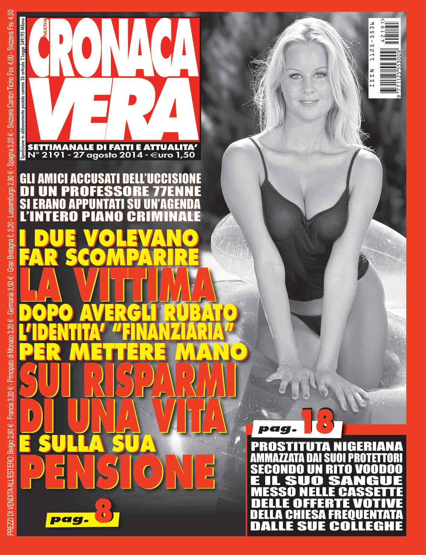 cover cronaca vera 2191