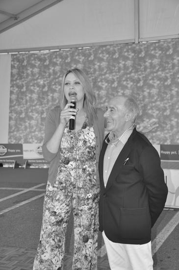 Paolo Prandi con Anna Falchi