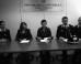 La conferenza stampa per illustrate i risultati dell'indagine  coordinata dal procuratore Lucia Lotti e dal sostituto Silvia Benetti che ha portato all'arresto di Vincenzo Scudera.