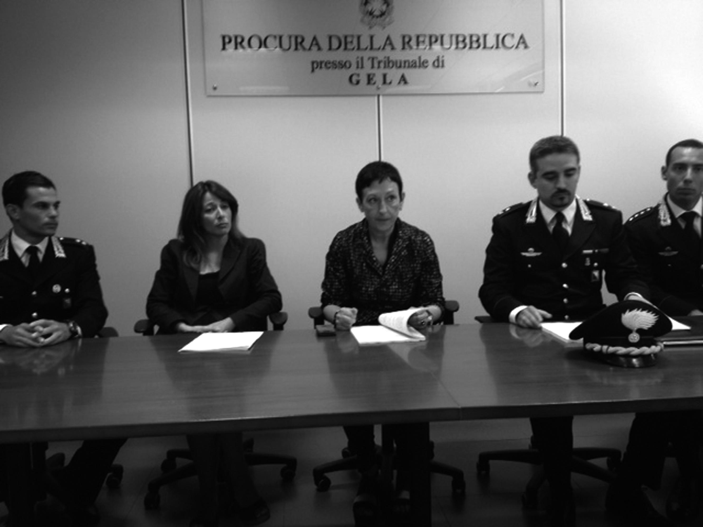 la conferenza stampa dopo l arresto