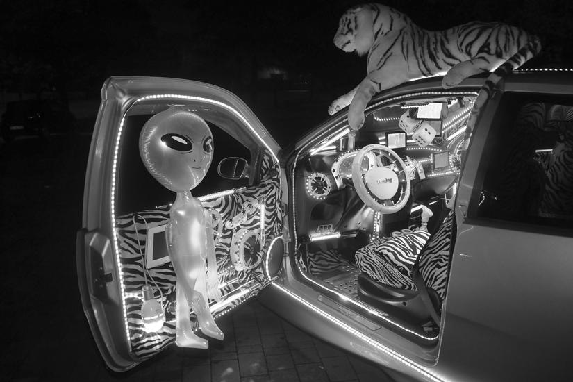 San Vittore Olona – Auto illuminata