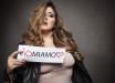 Messaggio chiaro*** Alice Pasti, 26 anni, mostra orgogliosa lo slogan della sua campagna dedicata alla bellezza delle donne comuni.