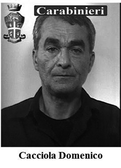 Il boss Domenico Cacciola, 51 anni, l'amante di Francesca Bellocco, risulta essere scomparso negli stessi giorni in cui la donna veniva uccisa.