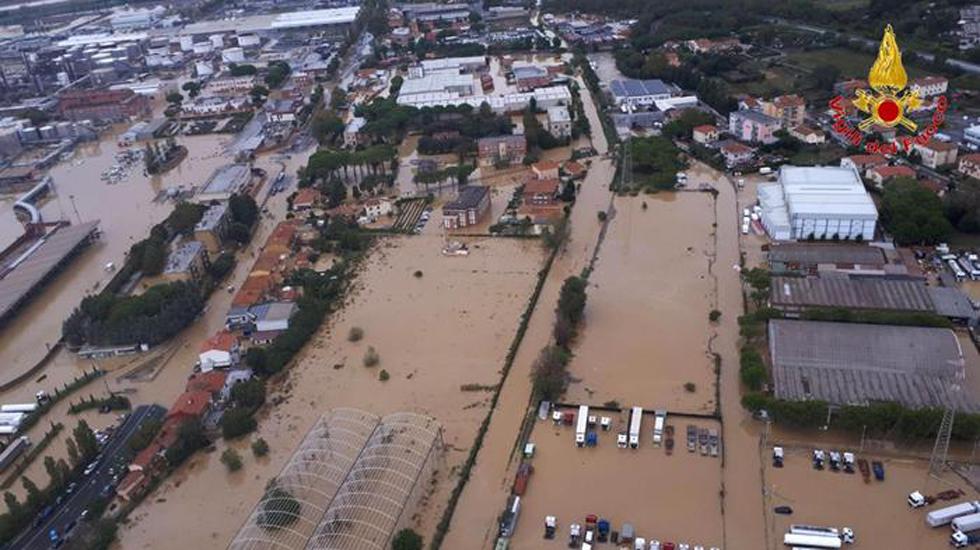 maltempo –  da sito vigili fuoco – zona Livorno Aurelia zona Stagno