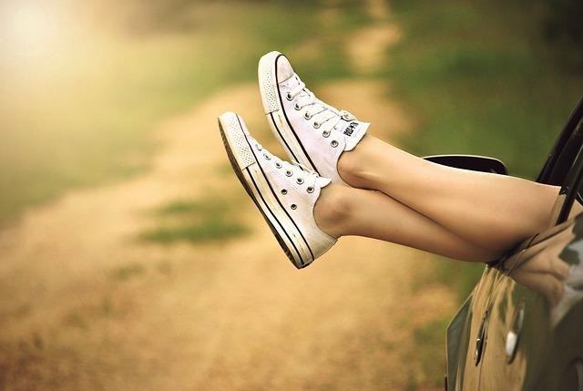 gambe sollevate